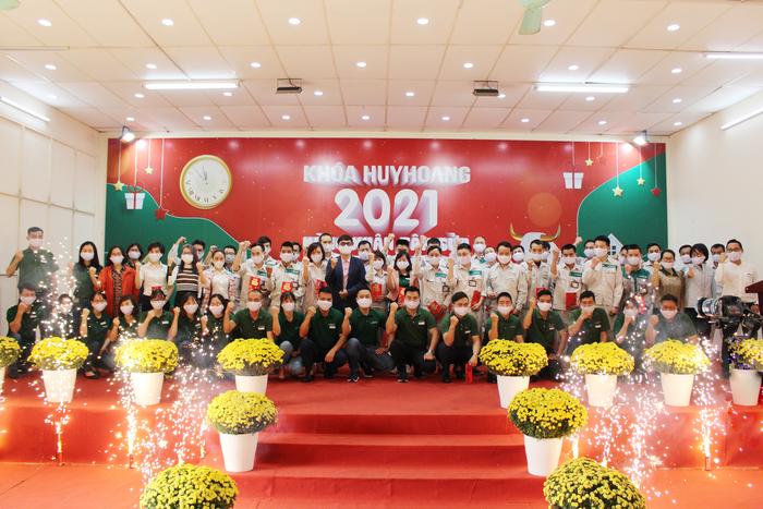Lễ khai xuân 2021 của Công ty TNHH Khóa Huy Hoàng
