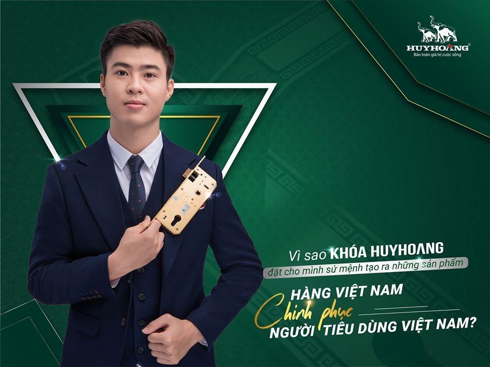 """Khóa Huy Hoàng và  sứ mệnh tạo ra những sản phẩm """"Hàng Việt Nam chinh phục người tiêu dùng Việt Nam"""""""