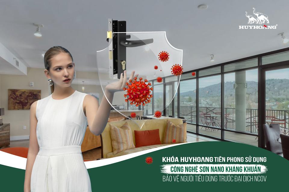 Khóa Huy Hoàng - Bảo vệ người dùng trước đại dịch 2019 -  nCoV