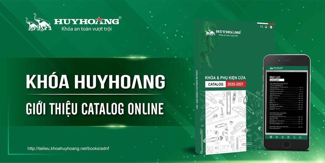 Catalogue Online các sản phẩm Khóa và phụ kiện cửa Huy Hoàng