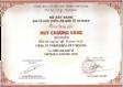 Huy chương vàng chất lượng sản phẩm khóa Huy Hoàng