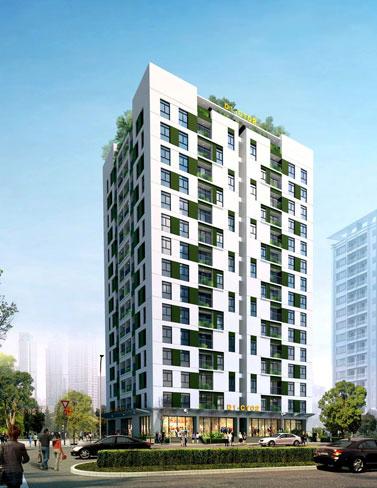 Dự án: Công trình nhà ở chung cư cao tầng D1