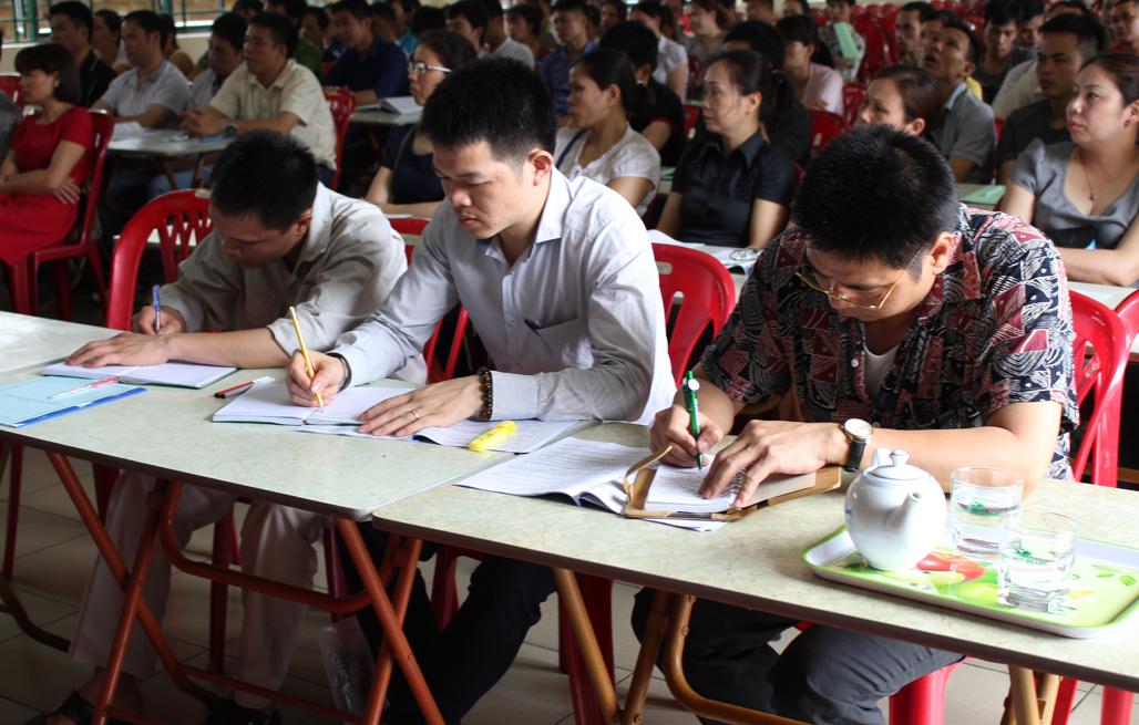 Tổ chức khóa học an toàn lao động cho cán bộ CNV công ty khóa Huy Hoàng