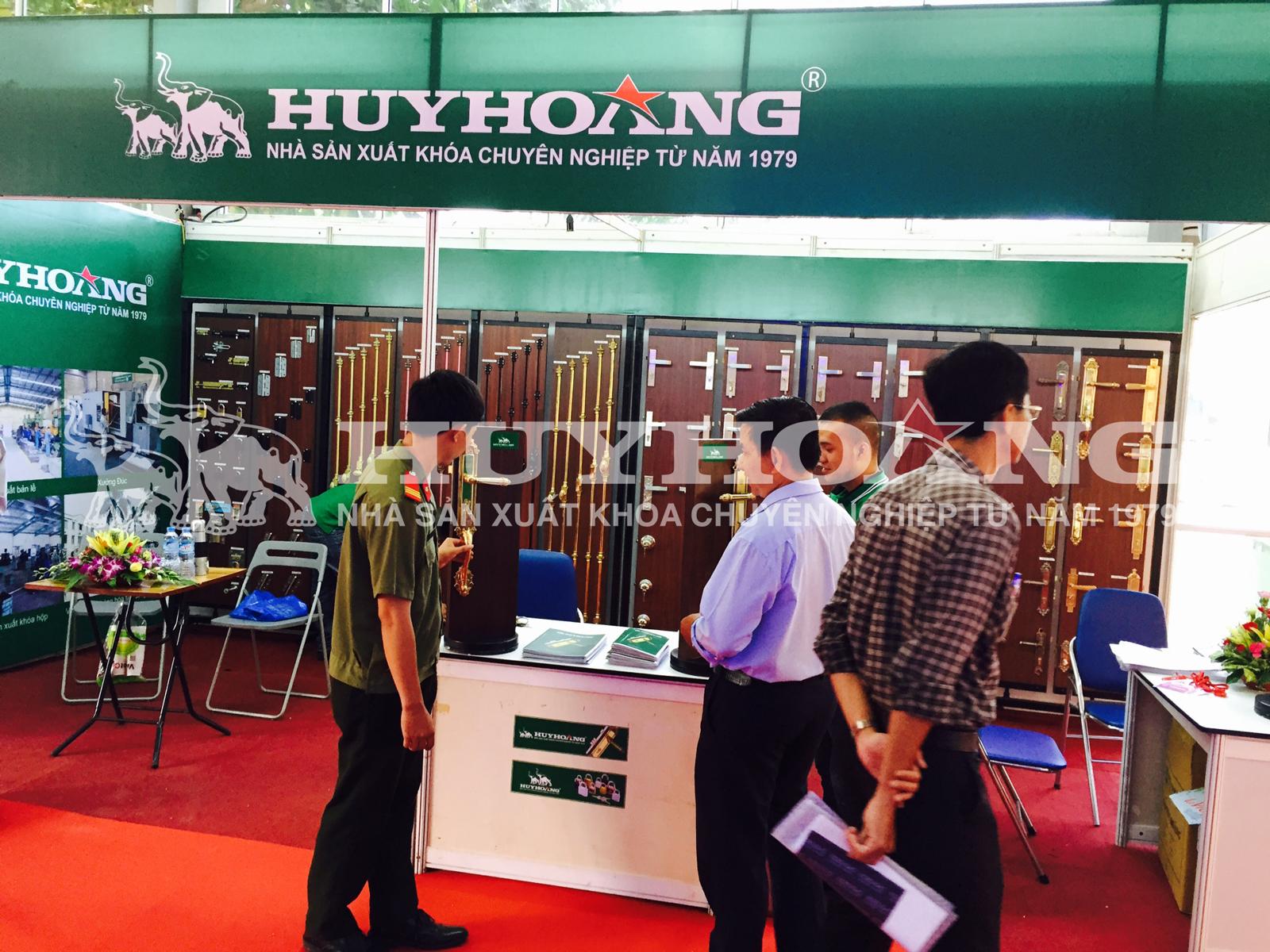 Khóa Huy Hoàng tham gia triển lãm quốc tế Vietbuild Cần Thơ 2015