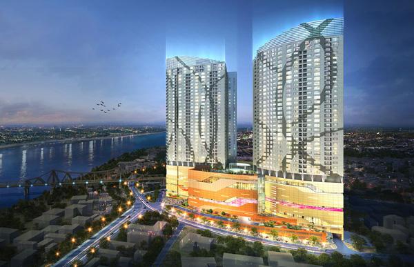 Dự án:  River Side Mipec Long Biên