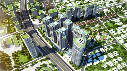 Dự án:  Khu đô thị mới VC2-Golden Silk