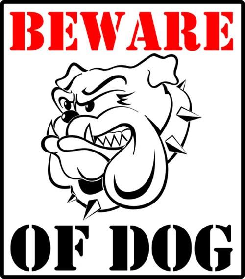 Treo biển nhà có chó dữ cũng làm nhụt chí kẻ trộm