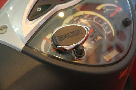 Lắp còi báo động cho xe máy