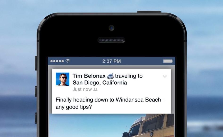 không nên cập nhật trạng thái đang vắng nhà trên facebook