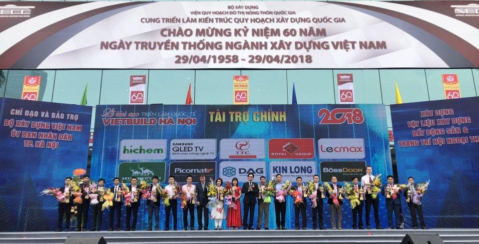 Khóa Huy Hoàng thu hút khách tham quan tại triển lãm Vietbuild Hà Nội 2018