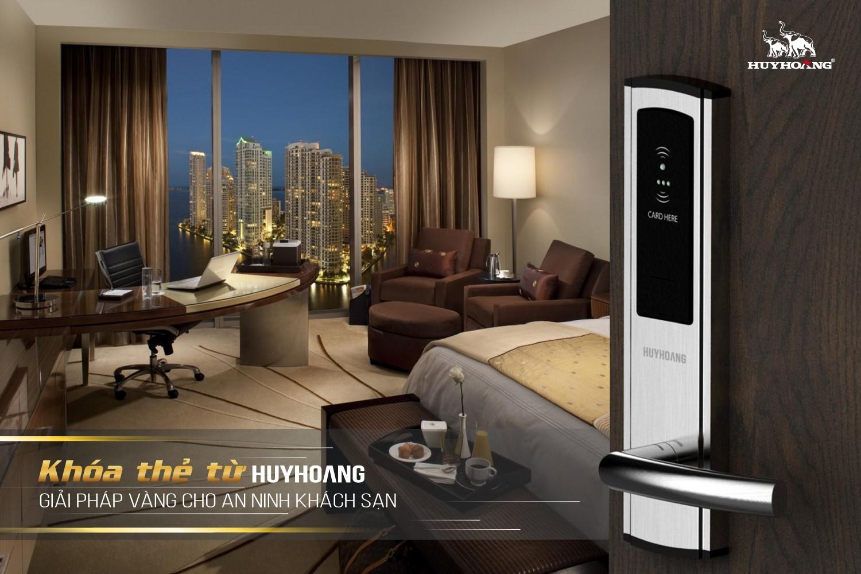 Khóa thẻ từ Huy Hoàng trở thành sự lựa chọn hàng đầu của các khách sạn cao cấp