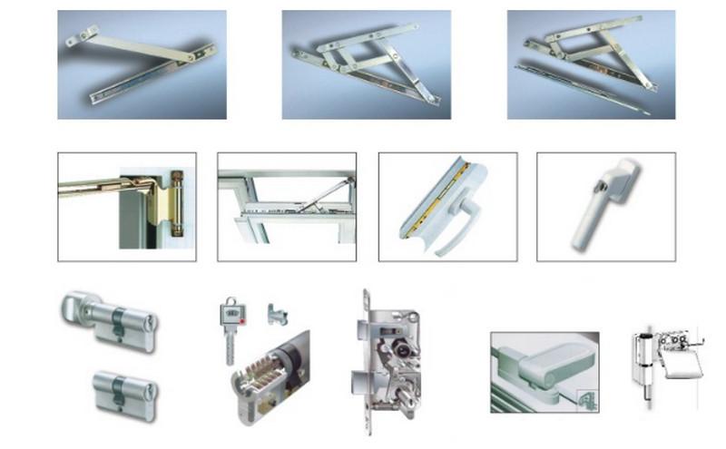 Lưu ý cần biết khi chọn phụ kiện cửa nhựa lõi thép